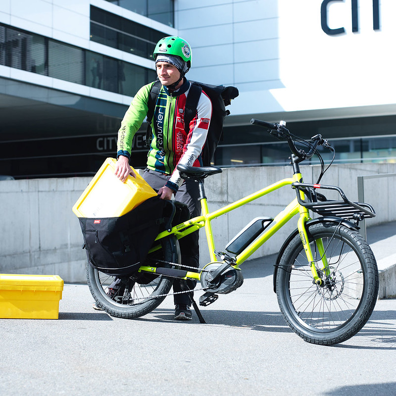 Benno Bikes Boost E cargo ebike in Zurich 21