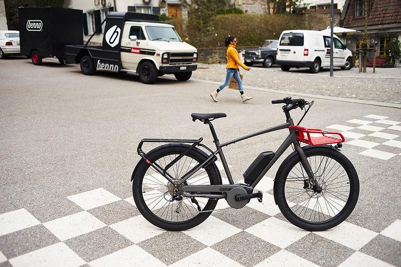 Benno Bikes eScout cargo ebike in Zurich 16