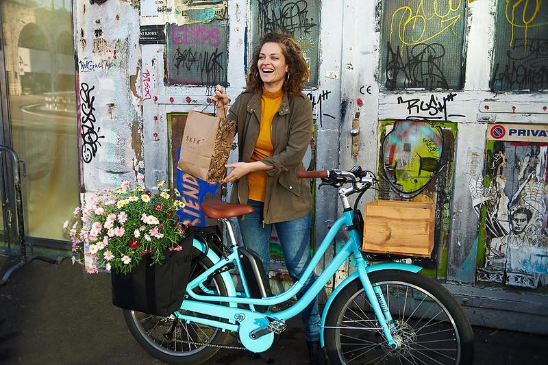 Benno Bikes eJoy cargo ebike in Zurich  15