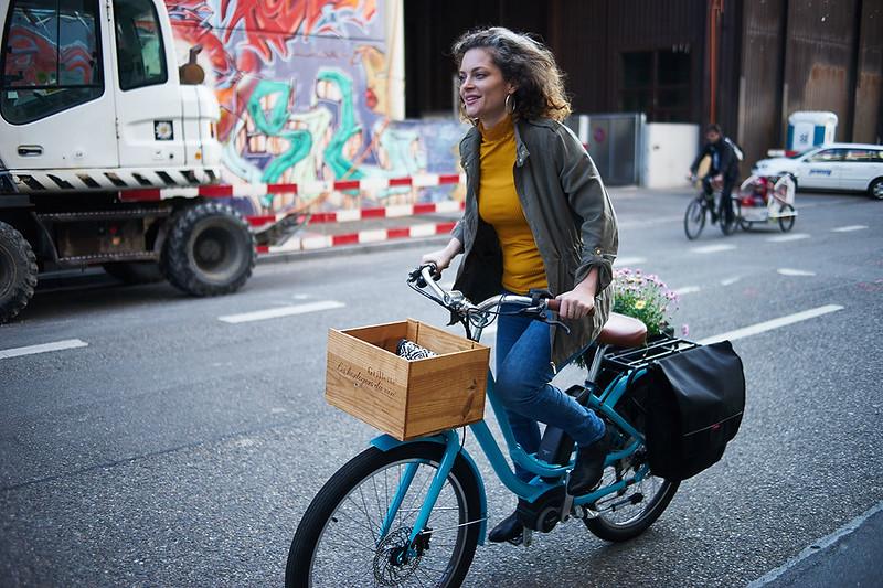 Benno Bikes eJoy cargo ebike in Zurich  14
