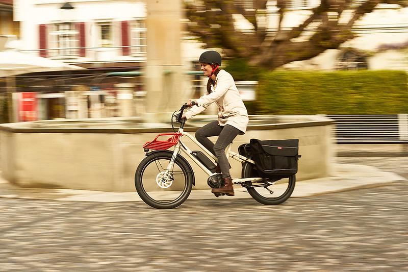 Benno Bikes Boost E cargo ebike in Zurich 09