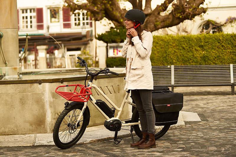 Benno Bikes Boost E cargo ebike in Zurich 08