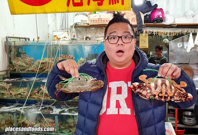 taiwan wanli crabs