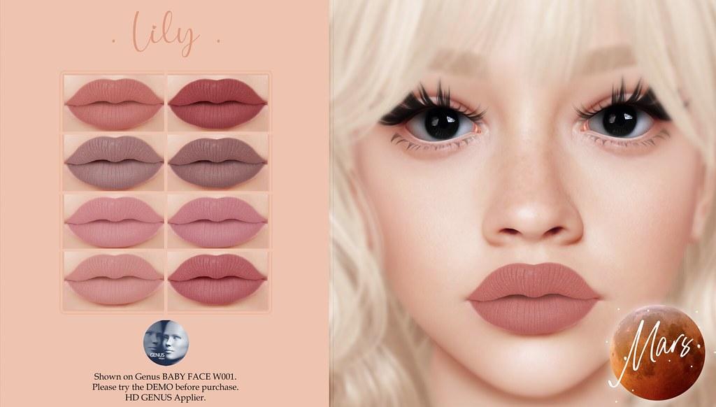 .Mars. – Lily HD GENUS Lipstick
