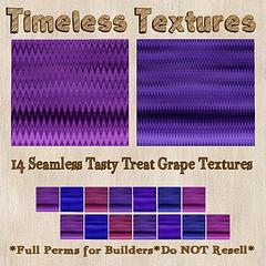 TT 14 Seamless Tasty Treat Grape Timeless Textures
