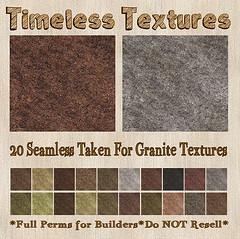 TT 20 Seamless Taken For Granite Timeless Textures