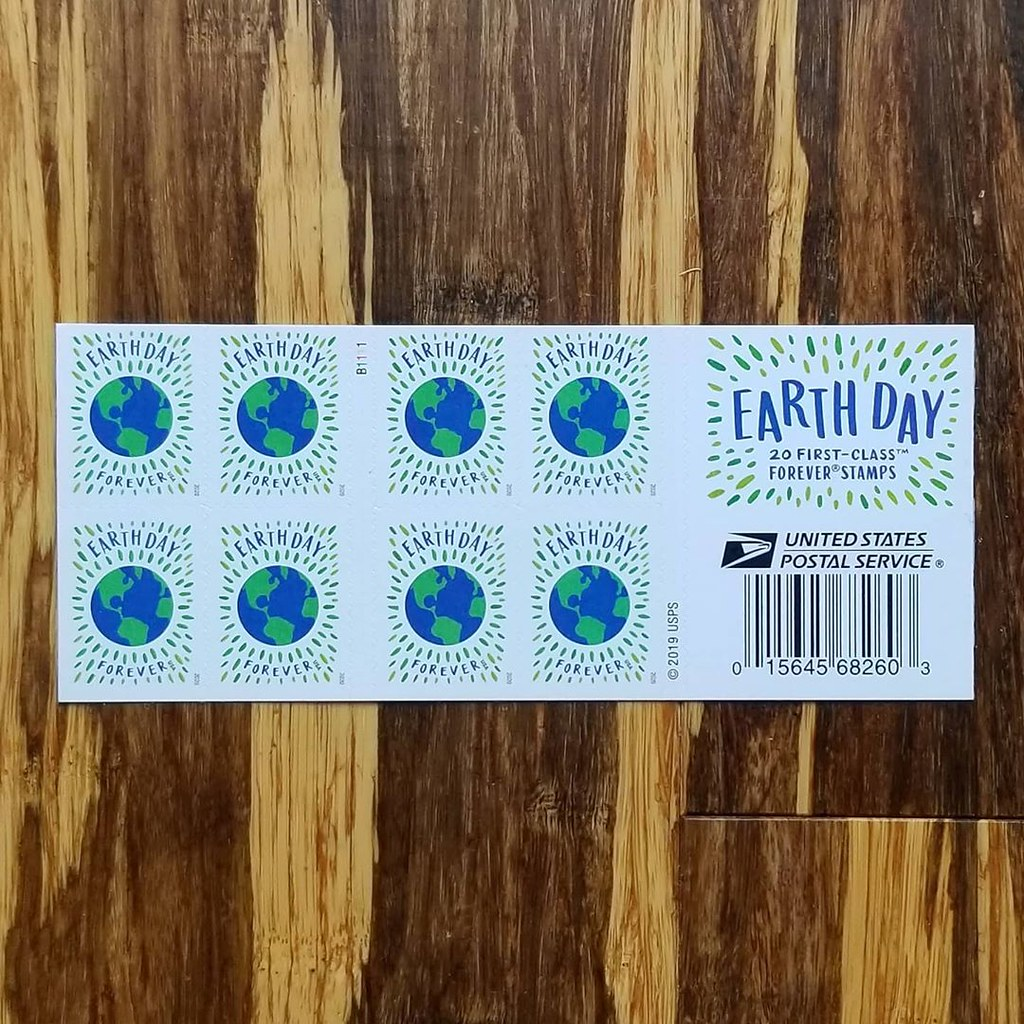 Earth Day USPS Stamps