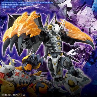 漆黑龍戰士登場~Figure-rise Standard [AMPLIFIED]《數碼寶貝大冒險02》黑暗戰鬥暴龍獸(ブラックウォーグレイモン)組裝模型
