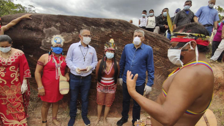 Pueblo Pemón dio la bienvenida oficial a su Abuela Kueka con histórica ceremonia espiritual