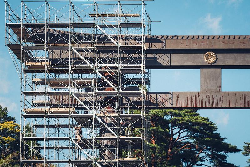 霧島神宮|一の鳥居