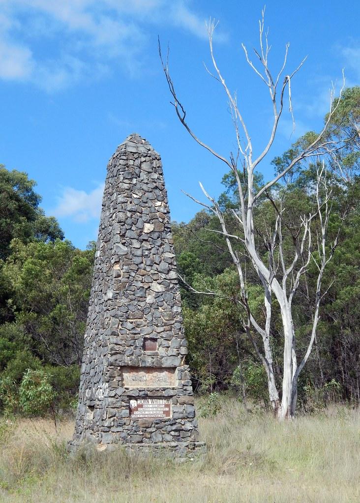 John Whitton Monument, Glenbrook, NSW.