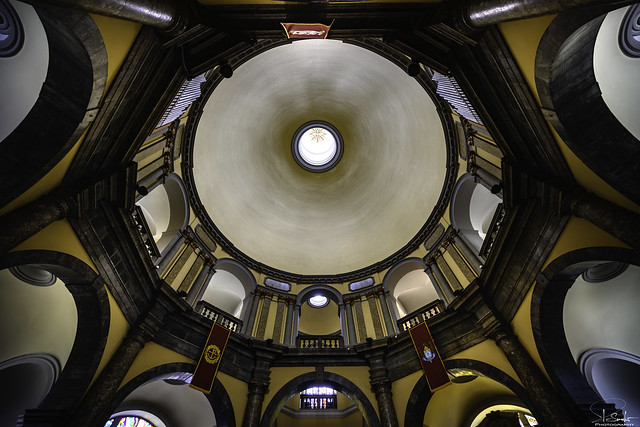 Indoor view St.-Vitus-Kathedrale in Rijeka - Croatia