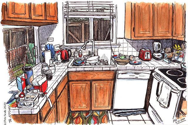 Kitchen Sketch 042120
