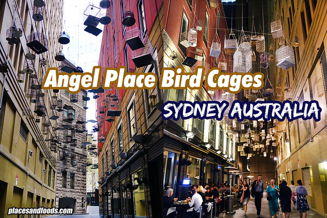 sydney angel place places and foods