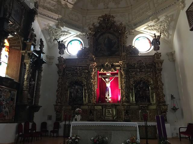 Capilla del Santísimo Cristo en Madrigal de las Altas Torres
