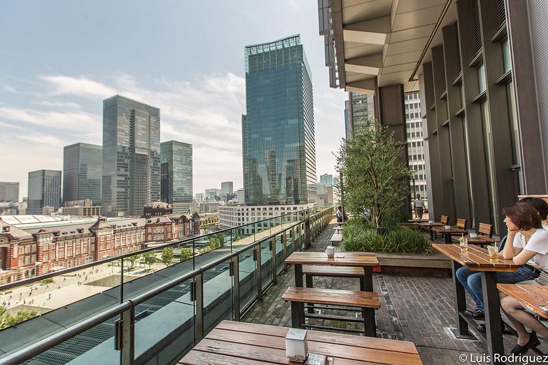 Terraza del edificio Shin-Marunouchi