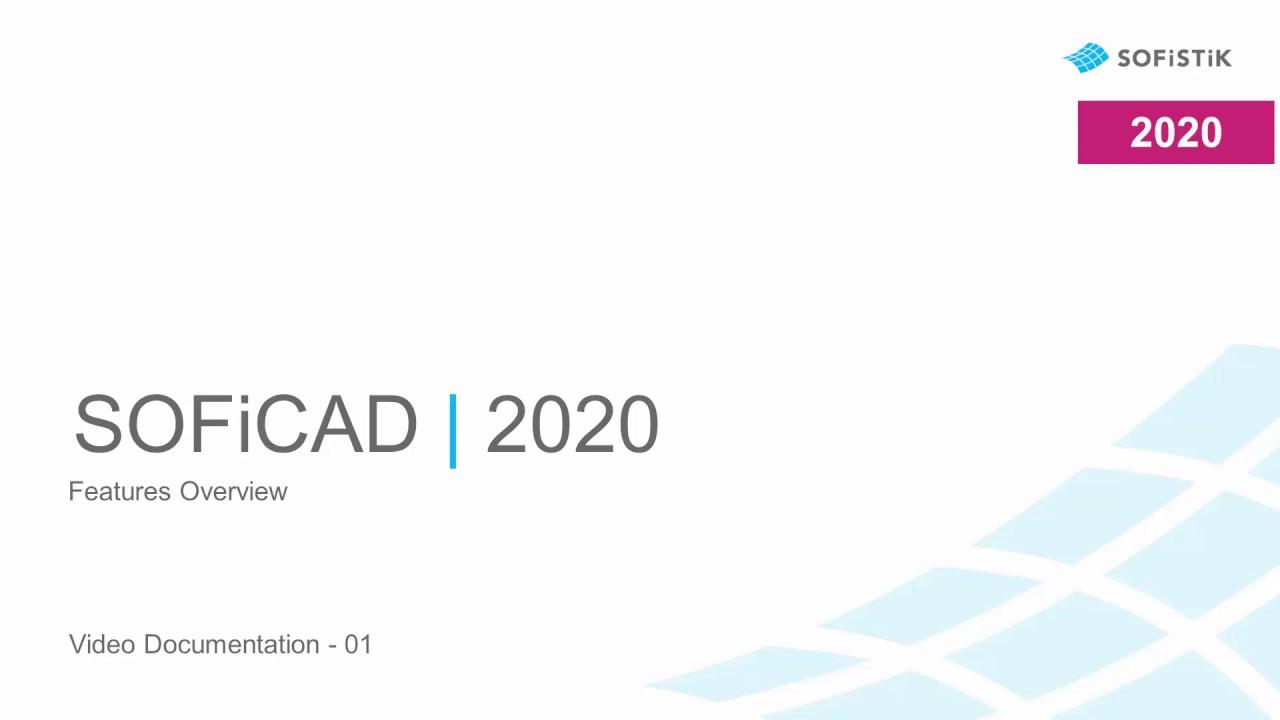 SOFiSTiK SOFiCAD SP 2020-4 Build 850 x64 full license