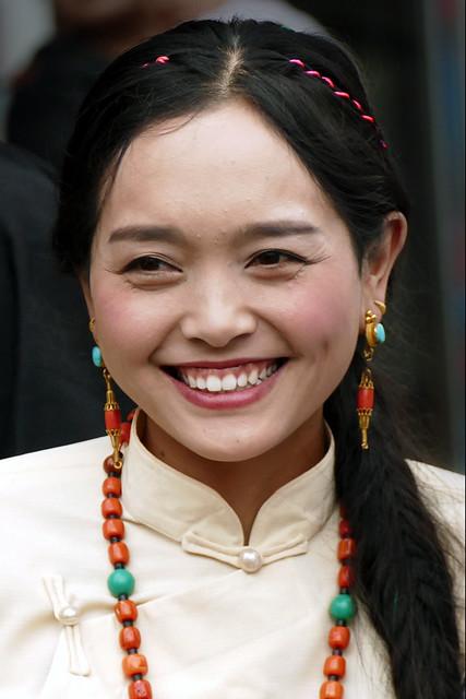 Sourire tibétain