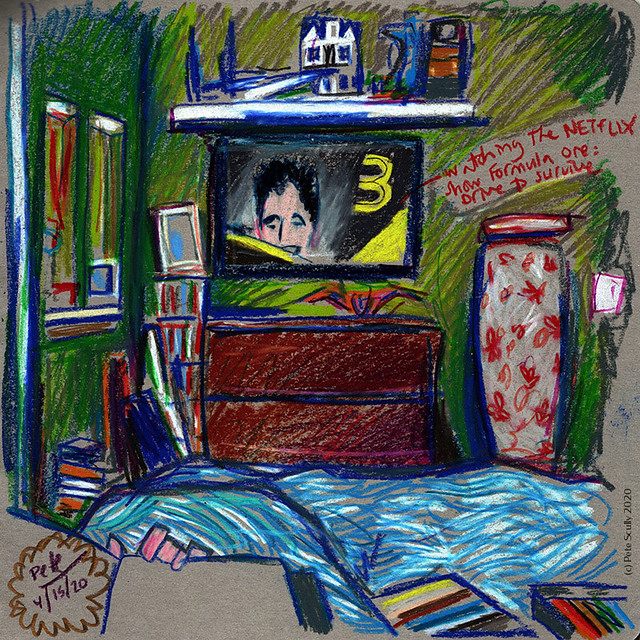 Bedroom sketch 041520