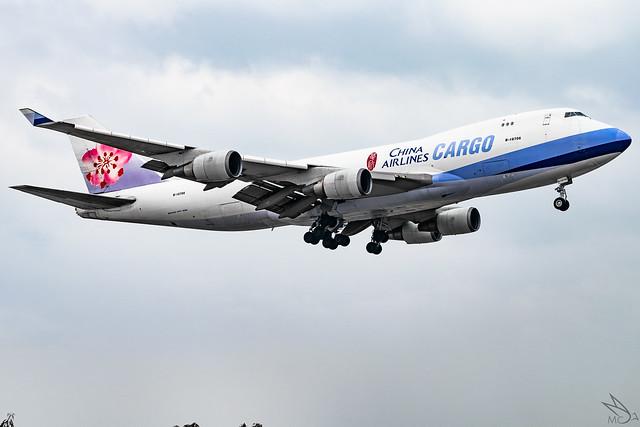 China Airlines Cargo - Boeing 747-409(F) / B-18706 @ Manila