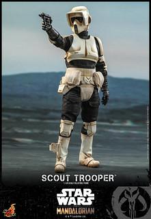 是那個打寶寶的暴徒!!! Hot Toys - TMS016 -《曼達洛人》帝國偵察兵 Scout Trooper 1/6 比例人偶