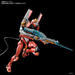RG《福音戰士新劇場版》泛用人型決戰兵器 人造人 EVA 正規實用型 貳號機-先行量產機(人造人間エヴァンゲリオン 正規実用型 2号機 先行量産機)