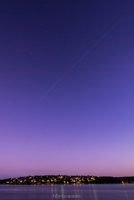 The ISS in the Twilight