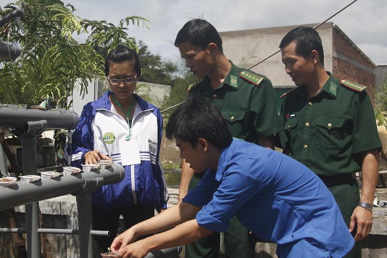 Chương trình Trí thức Khoa học trẻ Tình nguyện TP. HCM năm 2015