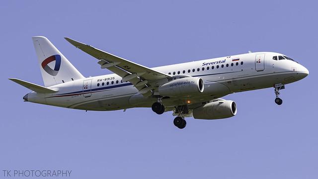 RA-89135 Severstal Sukhoi Superjet 100-95B 23.04.2020