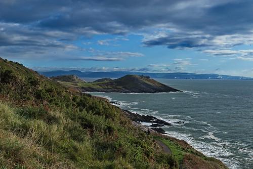nature mothernature landscape seaside sea seascape wales travelphotography travels nikon d800 walks path coast cliff water mumbles