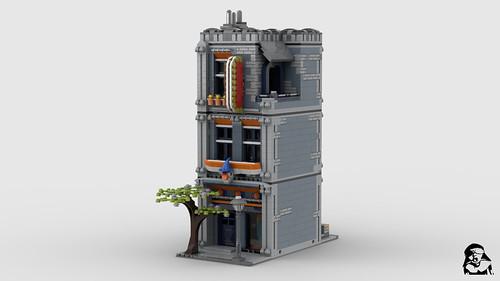 Fancy Dress Store - Modular MOC