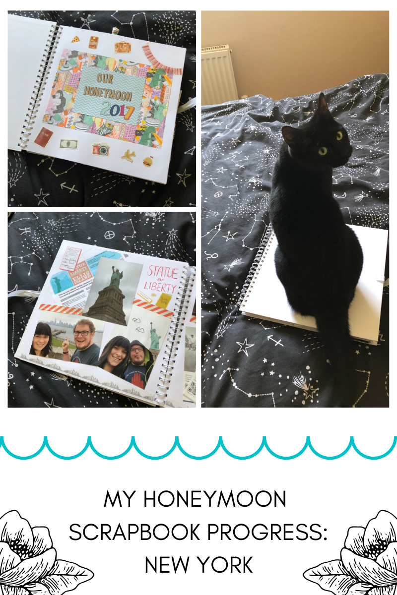 My Honeymoon Scrapbook Progress: New York