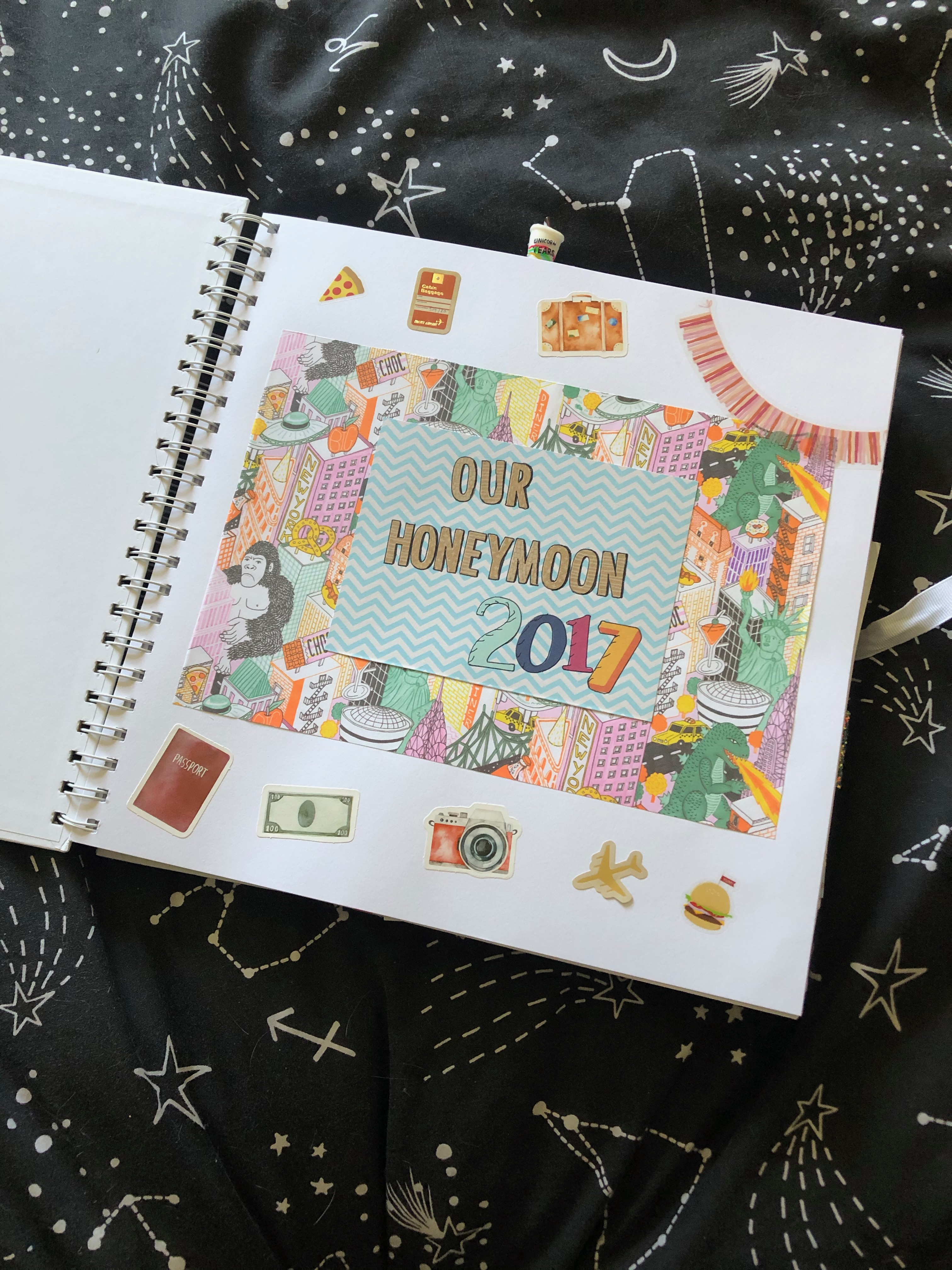honeymoon scrapbook