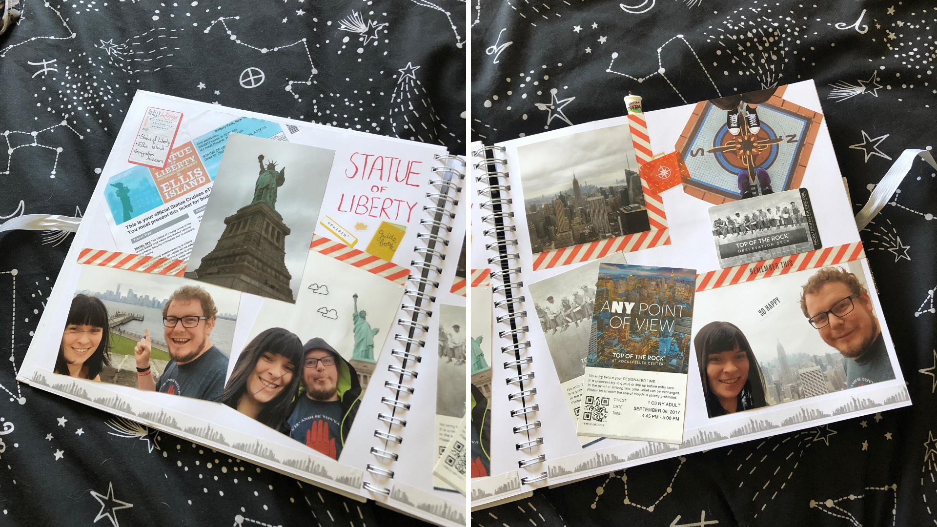 statue of liberty scrapbook