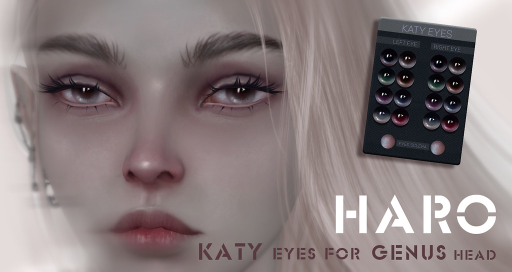 KATY eyes for Genus head