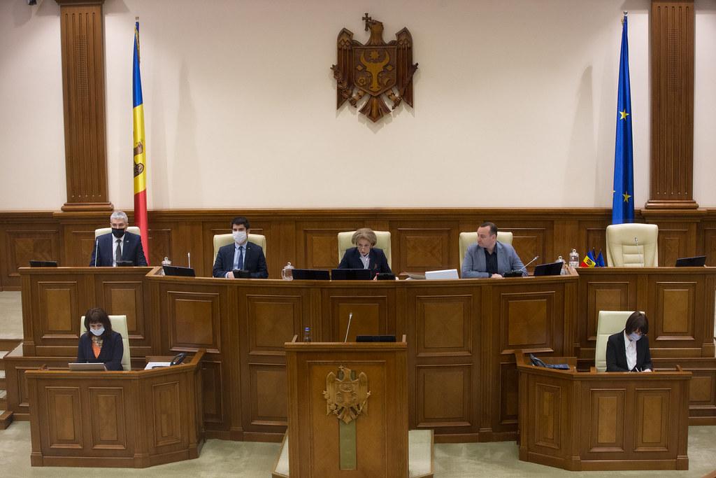 23.04.2020 Ședința plenară a Parlamentului
