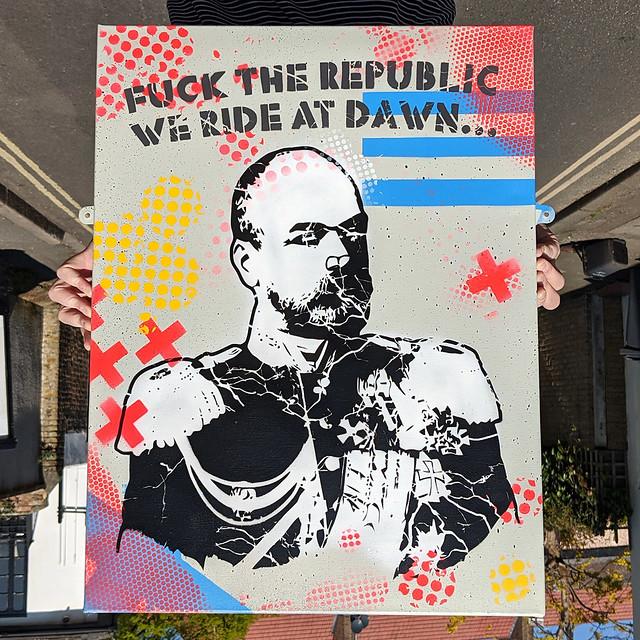 We ride at dawn...
