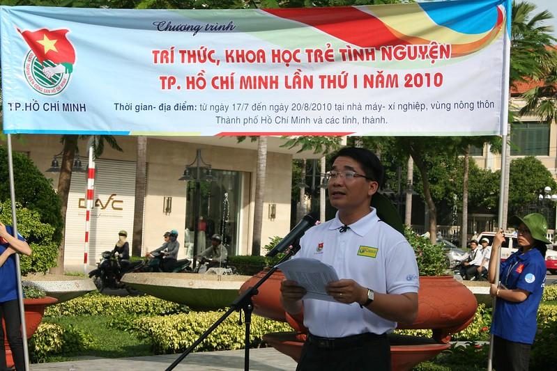 Chương trình Trí thức Khoa học trẻ Tình nguyện TP. HCM năm 2010