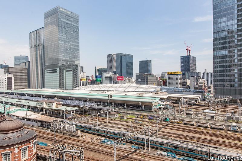 La estación de Tokio tiene 20 andenes en superficie