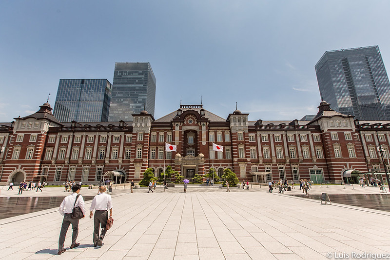 La preciosa estación de Tokio
