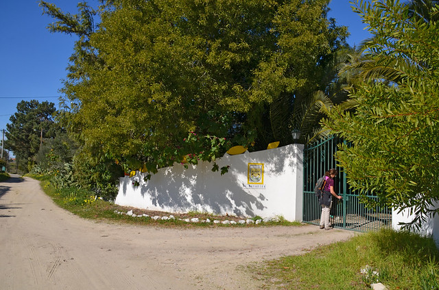 Entrance to the quinta