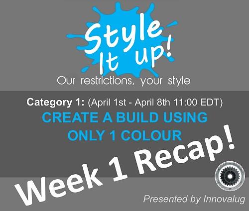 Style it Up Week 1 recap