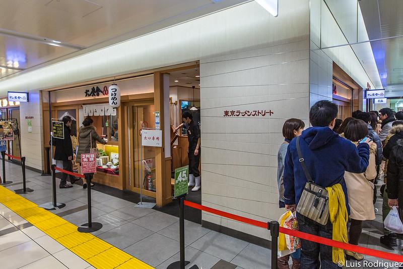 restaurante de ramen en Tokyo Ramen Street