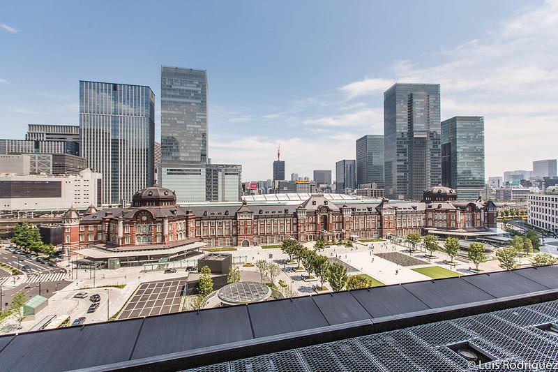 Edificio histórico de la estación de Tokio en el lado Marunouchi