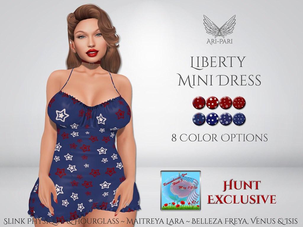 [Ari-Pari] Liberty Dress