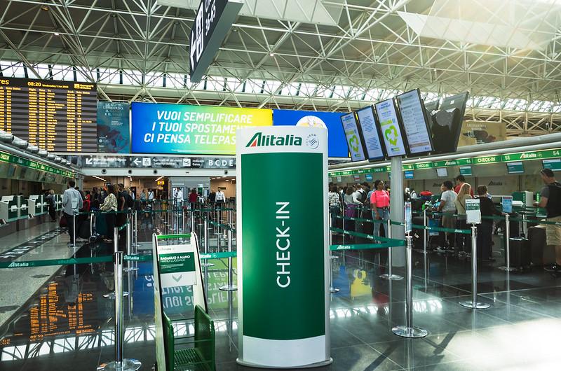 李奧納多·達文西-意大利最大的國際機場,也是意大利航空的樞紐