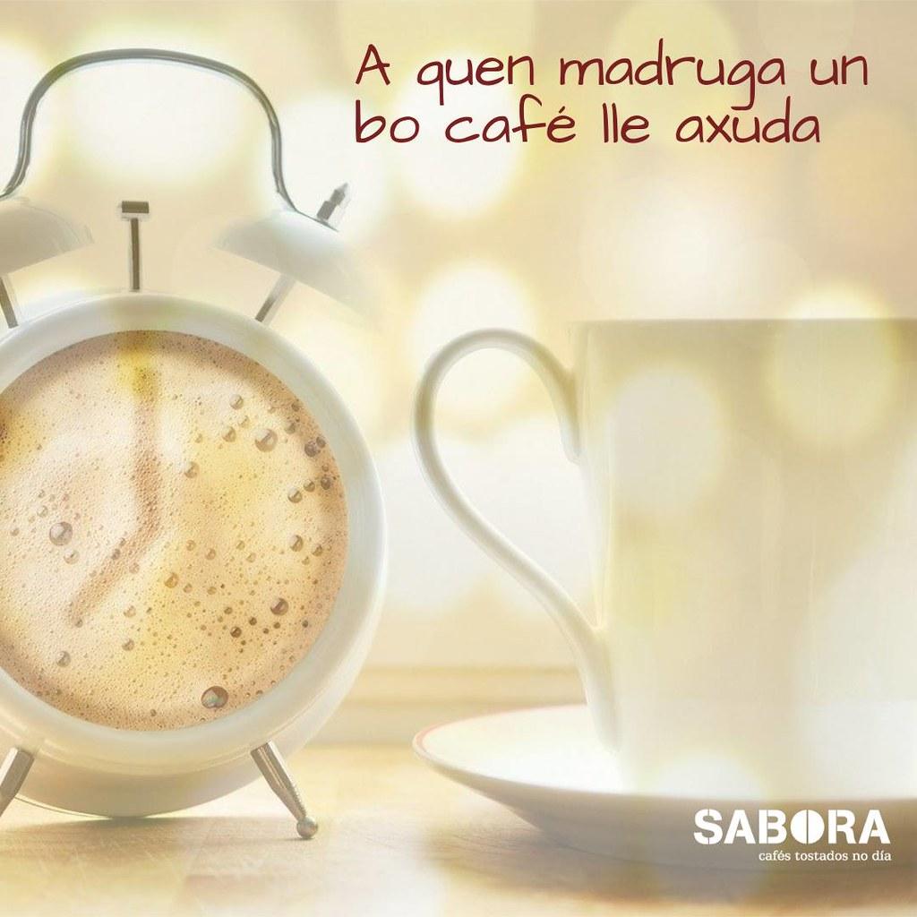 A quen madruga un bo café lle axuda