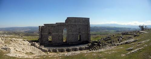 Teatro romano en la antigua Acinipo!!!