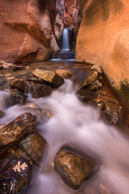 Kanarra Canyon glow V