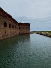 Moat Around Fort JEfferson